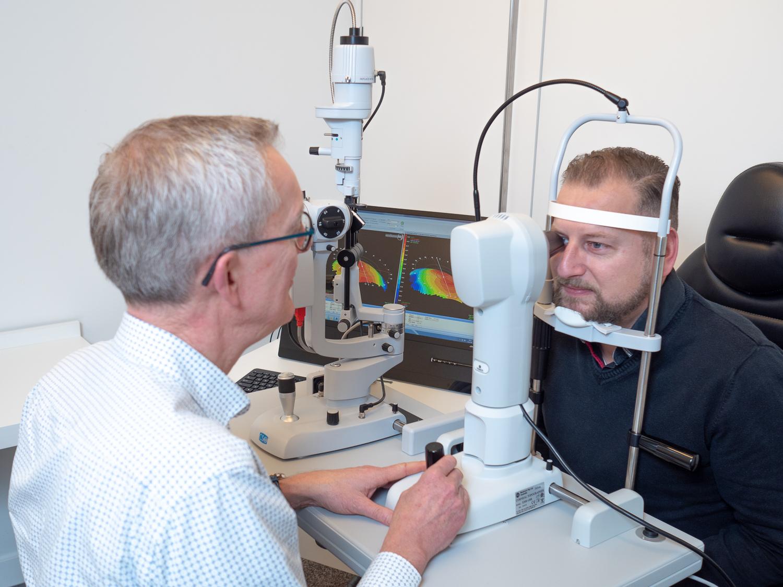 Oogmeting contactlensspecialist
