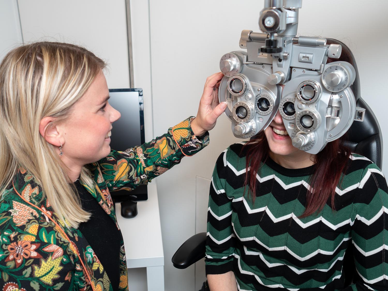Oogmeting opticien
