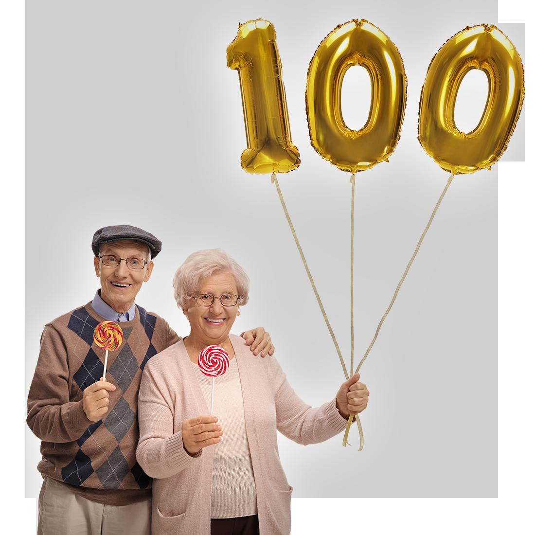 100 jarig bestaan