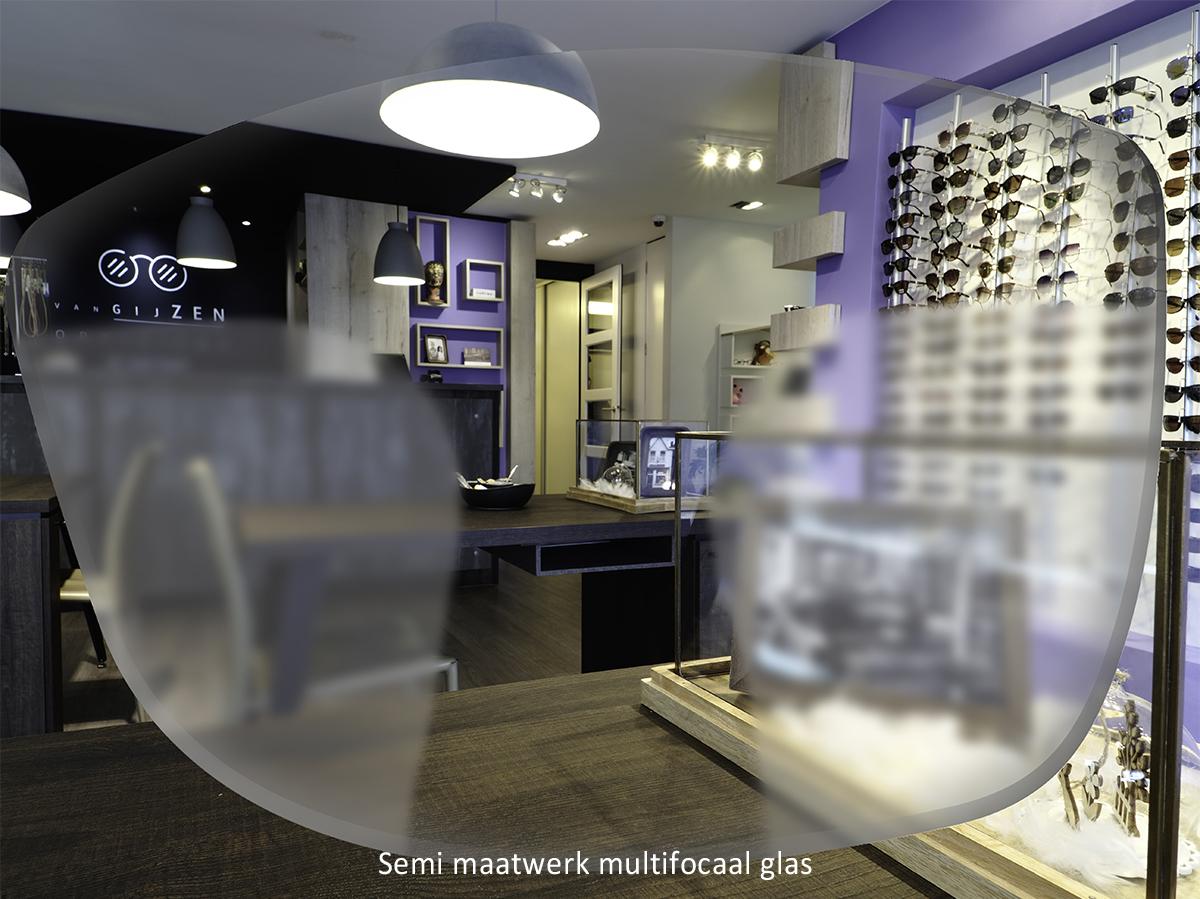 Semi maatwerk multifocale bril