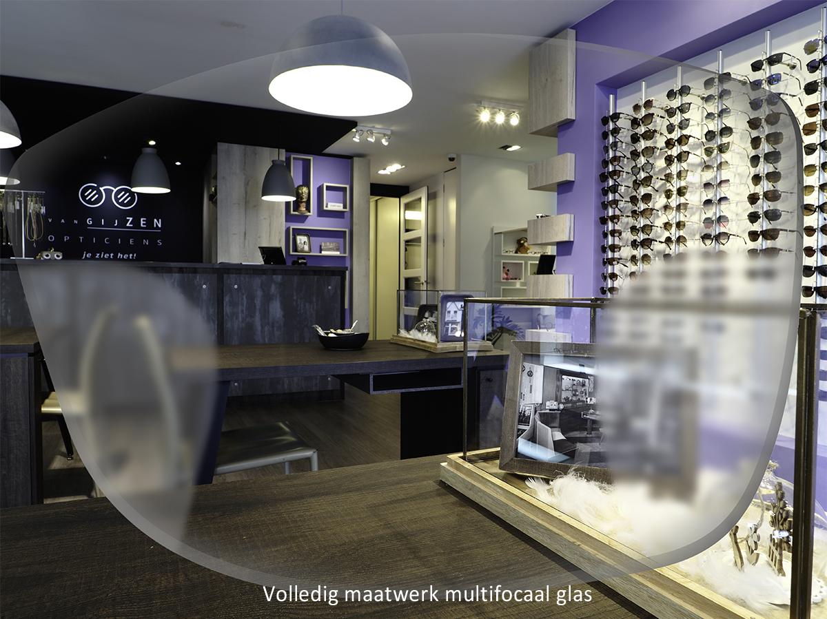 Volledig maatwerk multifocale bril