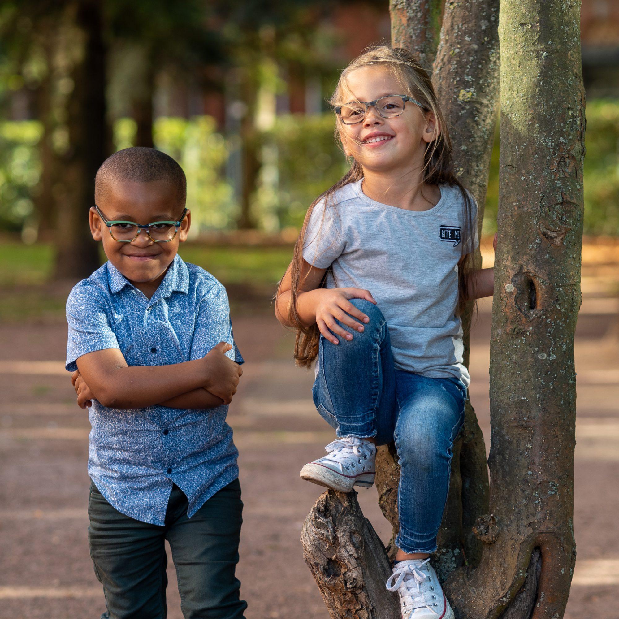 Kinderen Interpolis park Tilburg